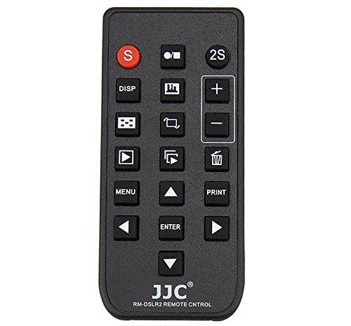 JJC RM-DSLR2 Wireless Remote Control for Sony A6000 NEX-7 Replaces Sony RMT-DSLR2 (Black)