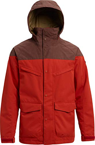 - Burton Breach Insulated Snowboard Jacket Bitters/Chestnut Waxed Mens Sz XL