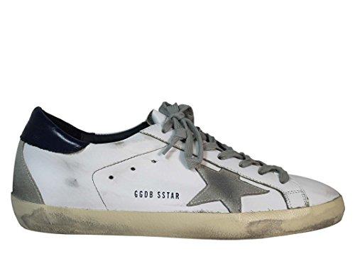 Golden Goose Sneakers Uomo Gcoms590a7 Pelle Bianco/Nero