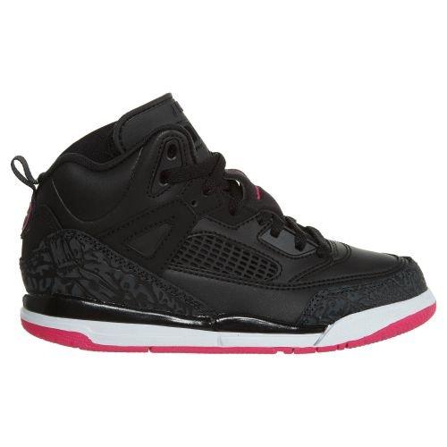 Jordan Spizike Girls Little Kids Shoes Black/Deadly Pink/Anthracite 535708-029 (13.5 M US) by NIKE