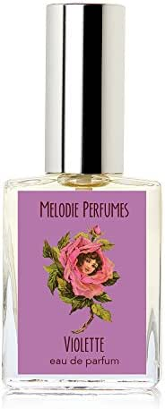 Melodie Perfumes Violette Violet perfume for women. Violet rose floral women's fragrance. 15ml