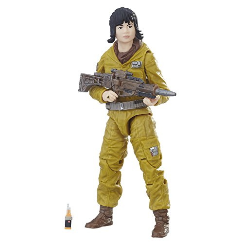 Star Wars The Black Series Episode 8 Resistance Tech Rose, 6-inch ()