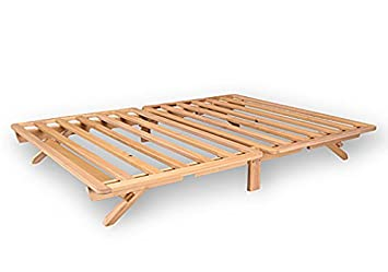 full size fold a bed compact bed frame