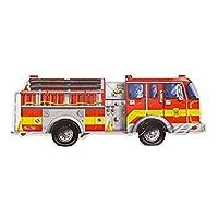 Melissa & Doug Giant Fire Engine Floor Puzzle (24 pcs, 1.2m long)