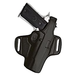 Tagua BH1-650 Thumb Break Belt Holster, Springfield XD 40 Tactical, Black, Right Hand
