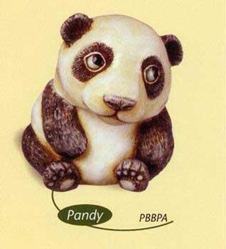 (Harmony Kingdom Pot Belly - Pandy - Baby Panda )