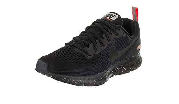 Para buscar refugio olvidadizo Remo  NIKE W Air Zoom Pegasus 34 Shield 907328-001 Black/Obsidian Women's Running  Shoes (6): Sports & Outdoors - Amazon.com