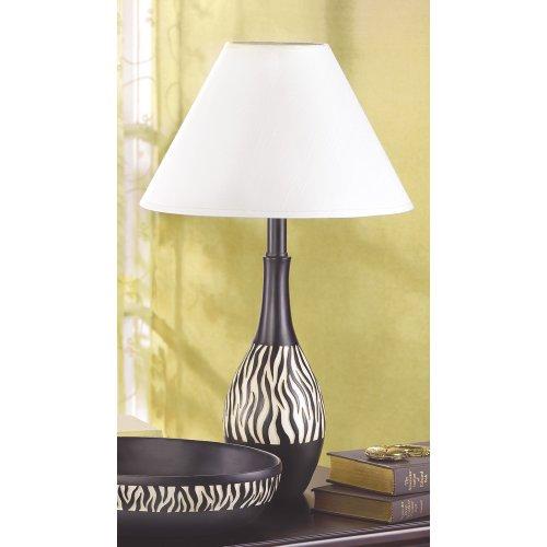 Zebra lamp, 12
