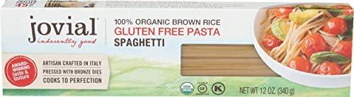 JOVIAL Organic Brown Rice Spaghetti Pasta, 12 OZ