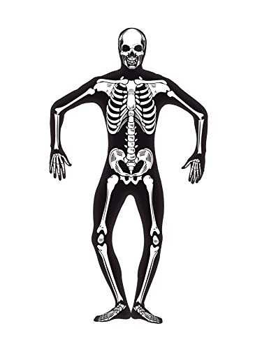 Skeleton Skin Suit (Smiffys Skeleton Second Skin)