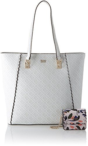 Guess SW696223 Bolso Shopper Mujer Blanco (White)