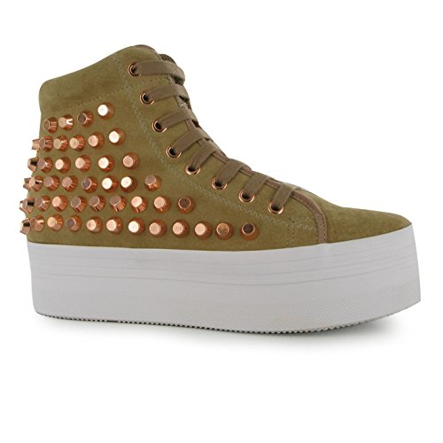 Jeffrey Campbell Damen Play Homg Studded High Tops
