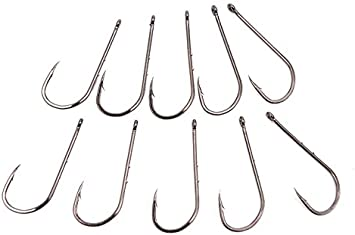 50pcs High Carboon Steel Tied Fish Hook for Fishing 5 Bags Double Fish Hook