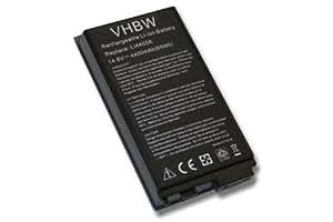 BATERÍA LI-ION 4400mAh 14.8V en color negro compatible con MEDION MD95257, MD95703, MD 95257 95703