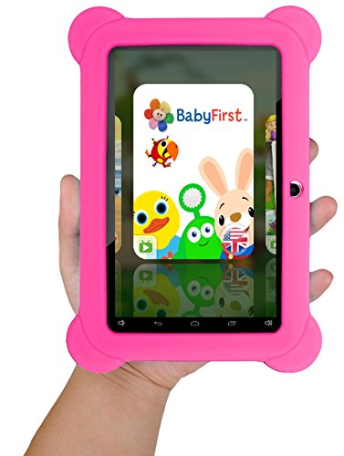 KOCASO [7 INCH] Quad Core [Android 4.4 KitKat] Kid's HD Tablet PC- 8GB Storage W/ 32GB Expandable Memory, 1024x600, Dual...