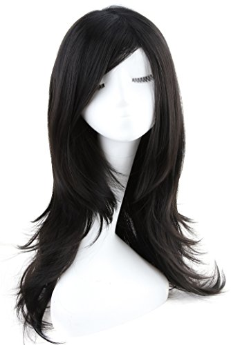 ATOZWIG Black Cosplay Straight Synthetic product image