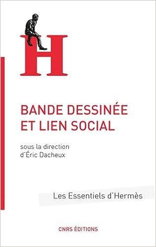 Téléchargement Bande dessinée et lien social pdf epub