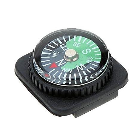 Mini Kompass mit Band Haken Tragbar Camping Outdoor Taschenkompass SURVIVAL Neu