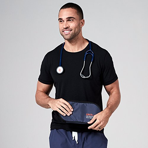 ERKA Precise Stethoscope | With Dual-Head Chestpiece And Dual Channel Tubing For Each Ear | Ideal For Professional Cardiology And Pediatric Use| Comes With A Portable Case | Light Grey by ERKA (Image #5)