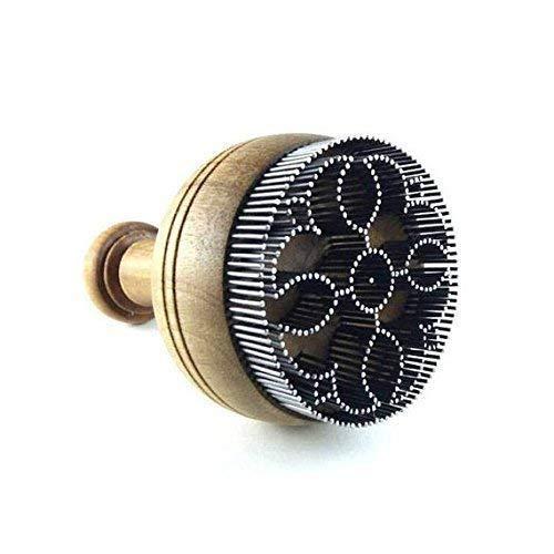 BONUS Floral design Uzbek bread stamping tool chekich for sale 5 cm diameter