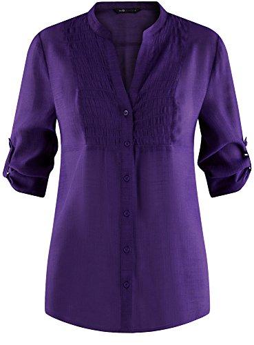 Violet Collection oodji 8300n Col Tunique Femme V en Yqadqr