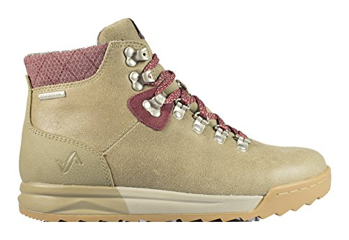 Forsake Patch - Women's Waterproof Premium Leather Hiking Boot (6, Timberwolf) by Forsake
