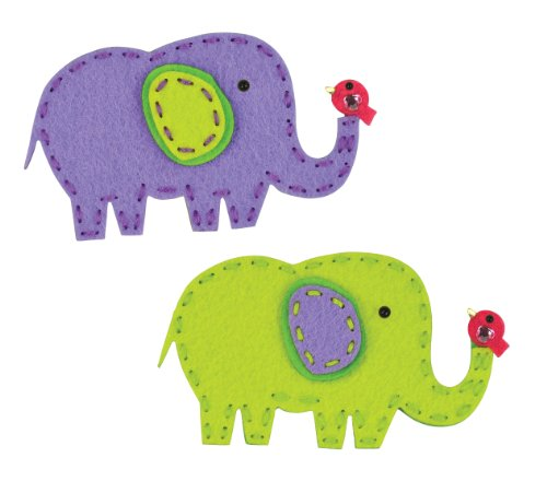 American Girl Crafts Sew and Share Kit, Elephants (Elephant Kids Craft)