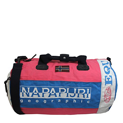 51ce9efea3 Napapijri Bags Sac de Sport Grand Format, 60 cm, 57 liters, Rose (Bright  Pink): Amazon.fr: Bagages