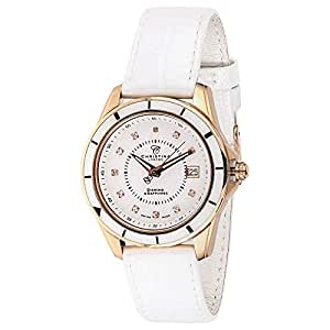 Christina Design London Women's White Dial Leather Band Casual Watch -149RWW