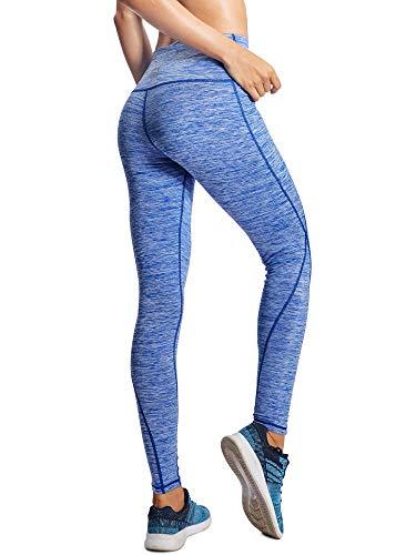 e75dd23bc6 ... Neleus Tummy Control High Waist Workout Running Leggings for Women,9033,Yoga  Pant 3 ...