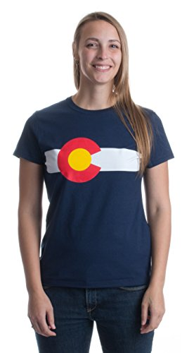 Colorado State Flag | Coloradan Rocky Mountain Pride CO Flag Ladies' T-shirt