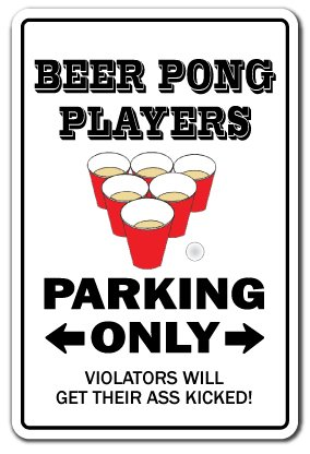 PLAYERS Sign drinking games funny