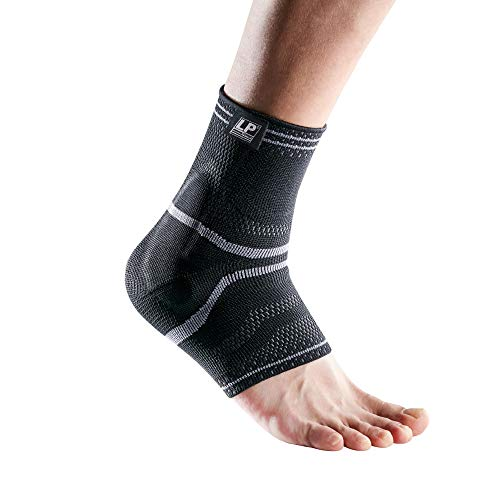 LP Support X-Tremus 110 XT Men Ankle Support Ankle Brace, Black Compression Technology Reduce Swelling and Relief Pain Stablelizer (Extra Large) ()