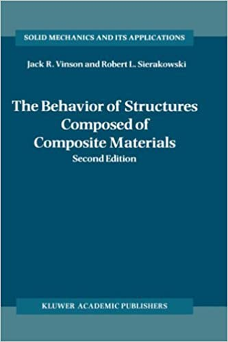 Book The behavior of structures composed of composite materials (Mechanics of Structural Systems) by Jack R. Vinson (1986-02-28)