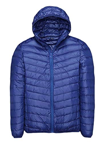 Weight Jackets Down Size Plus Men XINHEO Light AS9 Fit Relaxed Ultra Solid Sq6Xf