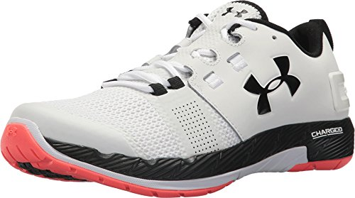 Under Armour Men's UA Commit TR White/Marathon Red/Black 11 D US D (M)