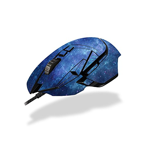 MightySkins Skin Logitech G502 Proteus Spectrum Gaming Mouse - Nebula | Protective, Durable Unique Vinyl Decal wrap Cover | Easy to Apply, Remove Change Styles | Made in The USA