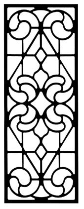 47.75 Inch Wall Art Style 205 from Village Wrought Iron
