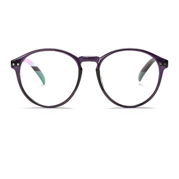c23febbadb Round Vintage Optical Eyewear Non-prescription Eyeglasses Frame with Clear  Lenses Unisex  Amazon.co.uk  Clothing