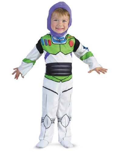 Buzz Lightyear Classic - Size: Child S(4-6) (Disney Buzz Lightyear Costume)