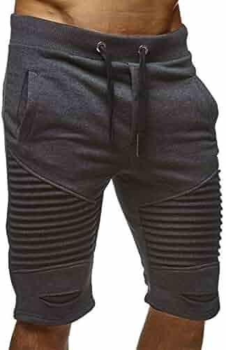 d25e7f5e8af725 Mens Fashion Sport Shorts - Outdoor Jogger Shorts Harem Pants Solid Color  Shorts for Summer