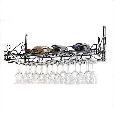8 bottle wall mounted wine rack - 5