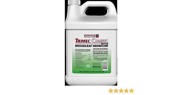 Amazon Com Trimec Classic Herbicide 1 Gal Post Emergent For All Major Broadleaf Weeds Furniture Decor