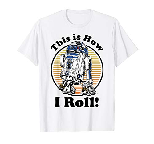 Star Wars R2-D2 Retro This Is How