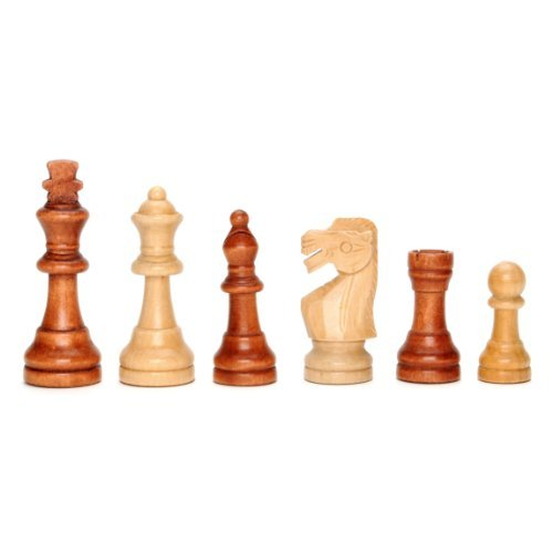 Staunton Chessmen by Wood Expressions