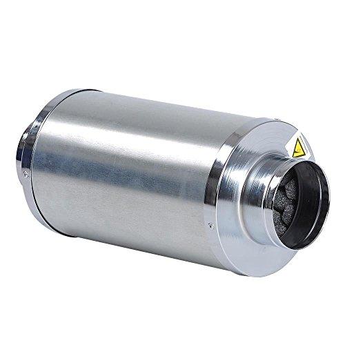 Hongruilite Hydro 4 6 8 Duct Muffler Inline Fan Blower Silencer Noise Reducer Hydroponics