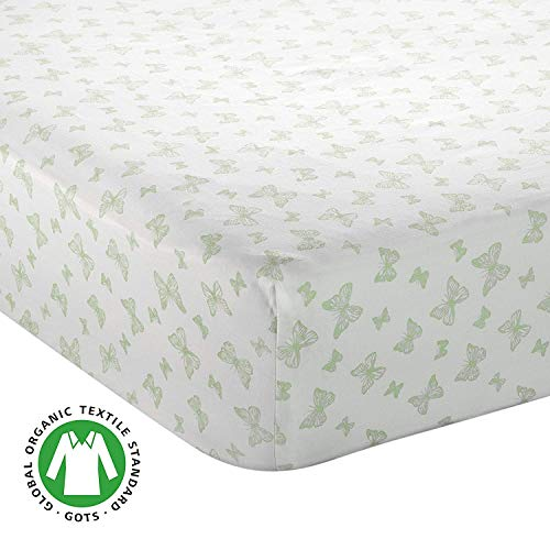 Bayleaf Organics - Fitted Crib Sheet 100% Organic Sateen Cotton GOTS-Certified, Super Soft | Standard Sized Baby - Toddler Mattress Cover | Boys and Girls (Set Premiere Product Mattress)