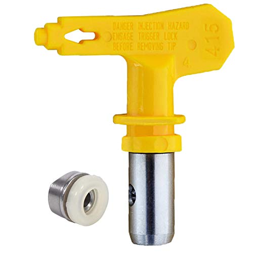 Jewboer Reversible Spray Tip for Airless Paint Sprayer (413) (Krause And Becker Airless Paint Sprayer Parts)