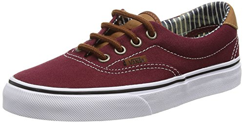 Vans Era 59 - Zapatillas Unisex adulto Rojo (c&l/port Royale/stripe Denim)