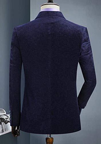 Vêtements Boutons À Blazer En Velours Homme Veste De Deux 1 Hommes Kangqi Pour Côtelé dXcwq6xY8d